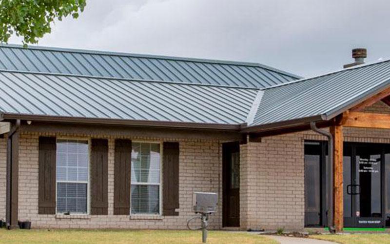 Classic Rib Metal Roof Style