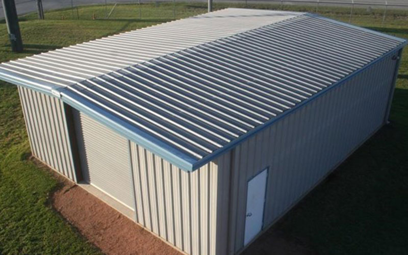 PBR Metal Roof Style